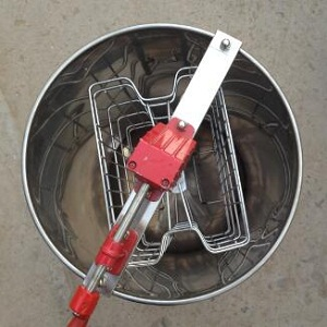 2 frame manual stainless steel honey extractor for sale