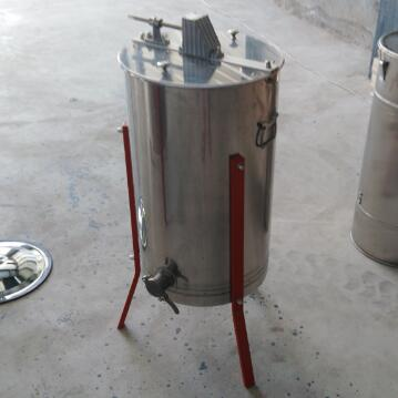 3 frame manual stainless steel honey extractor