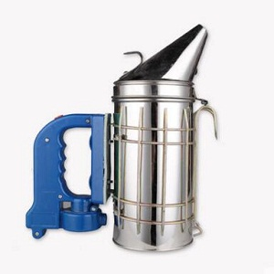 Beekeeping electric stainless steel cowhide bee smoker for sale