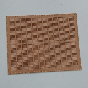 Beekeeping red plastic propolis collector screen for sale