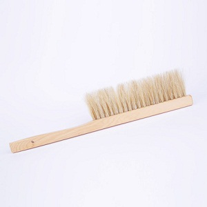 Beekeeping supplies double row pig bristle bee brush