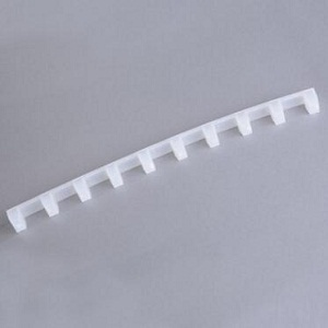 Beekeeping supplies white plastic bee hive frame spacer