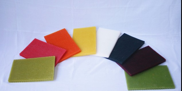 Cheap price colored beeswax candle sheets
