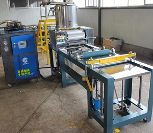 Fully automatic beeswax foundation sheet machine
