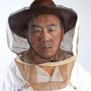 Beekeeping equipment nylon beekeeper hat for sale