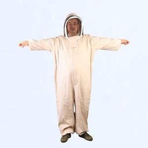 Beekeeping equipment thickening cotton full body beekeeper suit