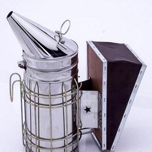 beekeeping-stainless-steel-cowhide-bee-smoker-for-sale