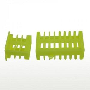 Beekeeping tools green plastic queen bee cage for sale